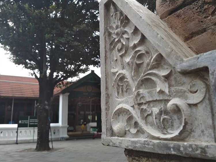 Masjid Gede Kotagede, sumber ig gilanganggarkusuma