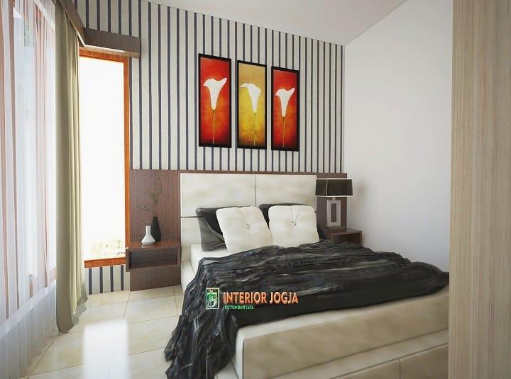 Contoh desain kamar tidur dari Interior Jogja, sumber ig @interiorjogja.id