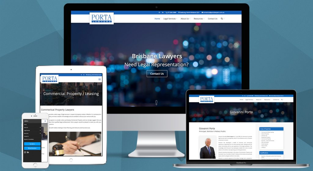 Ilustrasi Website Profesional