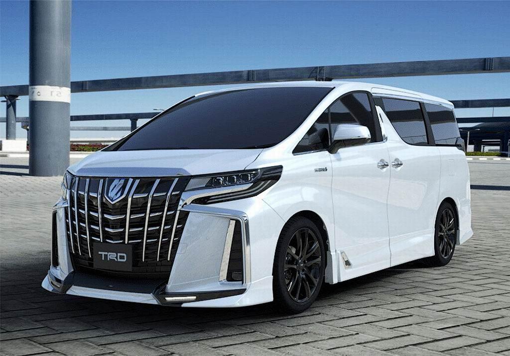 Toyota Alphard, sumber : Pinterest