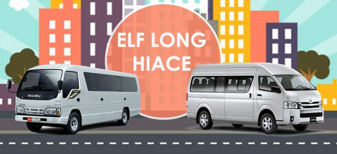 Elf Long dan Hiace